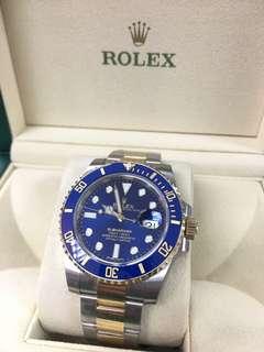 勞力士ROLEX 116613LB submariner date