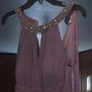 BNWT Lavender Prom or Bridesmaid Dress Size 12