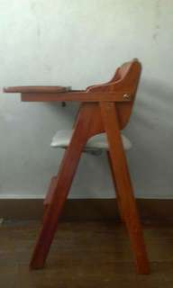 Baby wooden Highchair