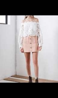 AJE Shrimpton Mini Blush Size 6