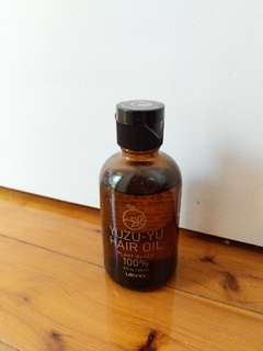 Japanese Utena - yuzu-yu hair oil - made in Japan