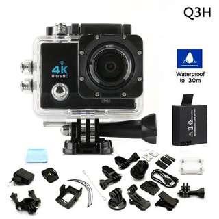 ( Q3H 真4K!!) 全新運動相機  防水4k超清相機 多款顏色 鏡頭 WIFI Action Camera Sport Camera..002 36