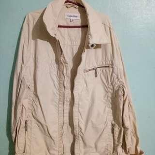 CALVIN KLEIN beige jacket (original)