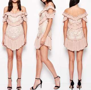 Alice McCall Lovebirds Dress HIRE