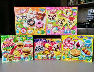 Kracie Popin' Cookin' candy making sets