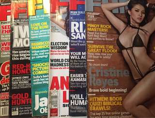Old FHM issues (2006-2007)
