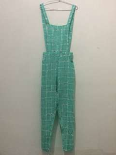 Overall Mint all size