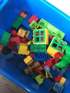 LEGO DUPLO And MEGABLOCKS
