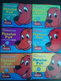 Clifford The Big Red Dog Phonics fun