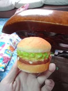 Burger squishy