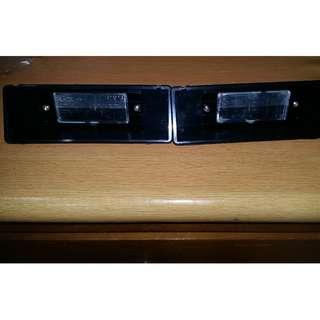 iswara aeroback plate number light set