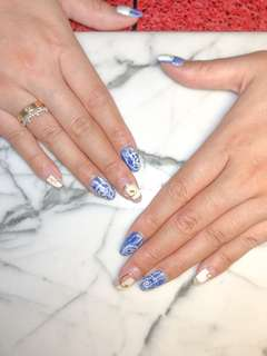 Japanese nail art manicure 15% OFF soft opening promo