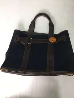 Authentic Hermès Black Petit Ceinture PM Tote