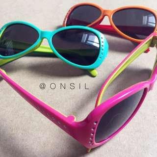 急售‼️「100元特區」「公司貨」兒童抗UV太陽眼鏡(三副一起賣)