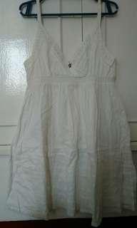 Pre-loved Galliano White Dress