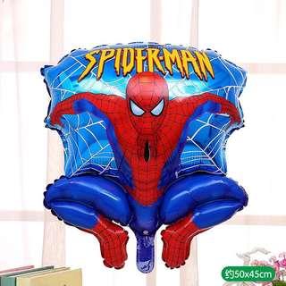 C51 birthday party foil balloon spider man blue
