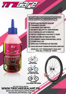 Tire sealant for all types of tires