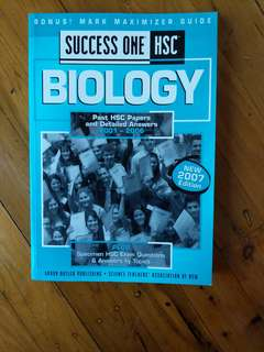 Success one hsc - biology - past hsc papers with answers (2001-2006)