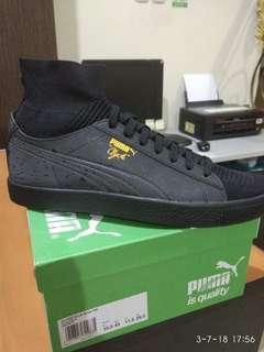 Jual paket Puma Clyde Sock FM dan Puma Match Raw X DP