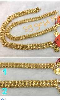 916 Gold Bracelet design 1