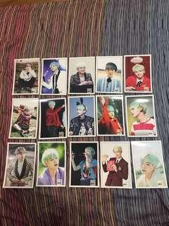 BTS Suga Unofficial Photocard