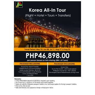 Korea All-In Tour