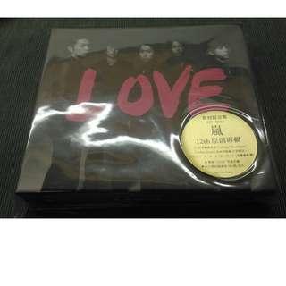 ARASHI 12th專輯 CD+DVD LOVE 初回限定盤 台壓