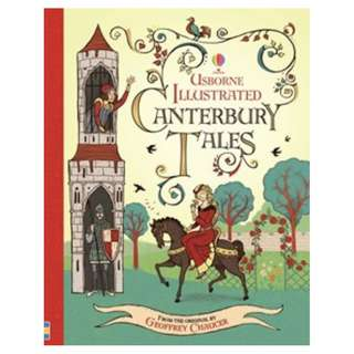 (Brand New) Usborne Illustrated Canterbury Tales (Illustrated Stories)    By: Geoffrey Chaucer, Maria Surducan (Illustrator) Hardcover