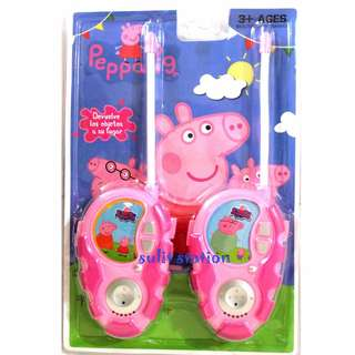 PEPPA PIG WALKIE TALKIE TOYS ( battery operated )