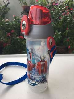 Kids Water Bottle-spider man