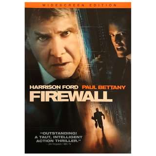 DVD -  FIREWALL (ORIGINAL USA IMPORT CODE 1)