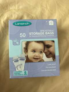 Lansinoh Breastmilk Storage bags 50
