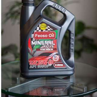 Engine Oil / Minyak Enjin Feoso Oil 15W-40 light duty
