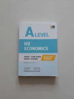 A Level H2 Economics Suggested Answers