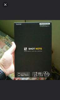 Short Note Memo Pad