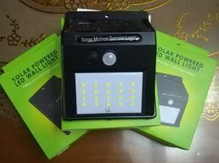Solar motion activated light 20leds lights