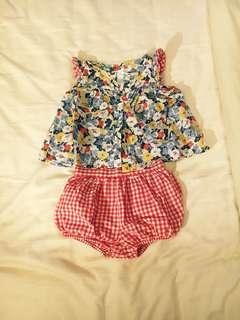 Ralph Lauren Baby Shirt and Shorts