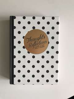 Typo Notebook thoughts reflection