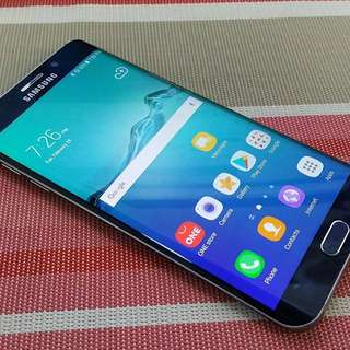 SAMSUNG S6 EDGE PLUS with amoled burn
