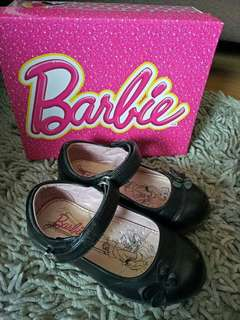 Barbie black/school shoes
