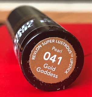 Brand New Revlon Street Chic Lipstick - Gold Goddess