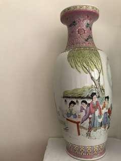 A Fine Porcelain Beauty Vase H-61cm
