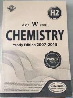 GCE A-Level old syllabus H2 Chem (2007-2015)