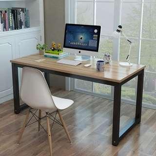 Office Desk w/ Steel Legs Maple Color  OD-02