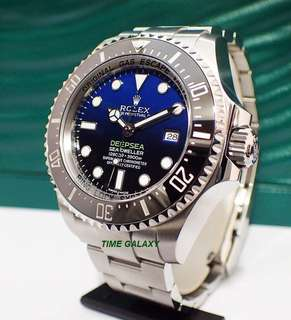 "Brand New ROLEX Deepsea Sea-Dweller ""D-Blue''. Hard to get model. Swiss Made."