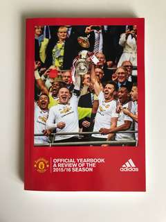 Adidas Manchester United official yearbook 2015/2016