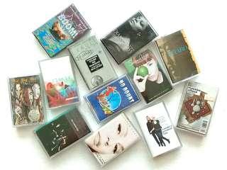 Cassette Tapes Various Artist Kaset