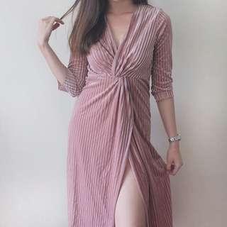 Pixie Dust Slit Dress