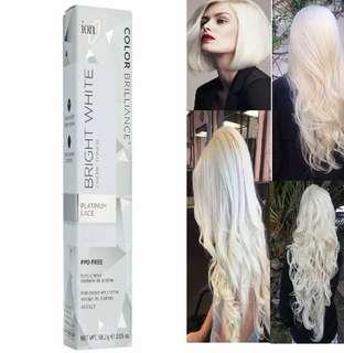 ion™ Color Brilliance™ Bright White Crème Toner Platinum Lace/Snow Cap/ Icy White