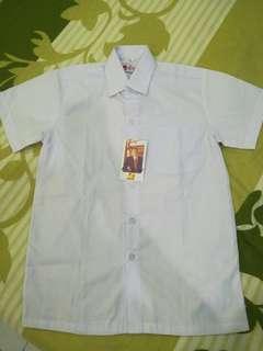 White collar school blouse